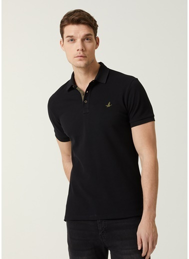 Beymen Club Polo Yaka T-shirt Siyah